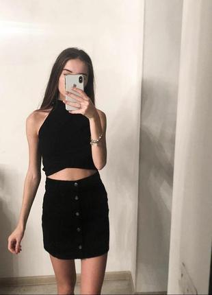 Вельветовая юбка next