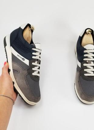 Geox оригинал мужские кроссовки 43