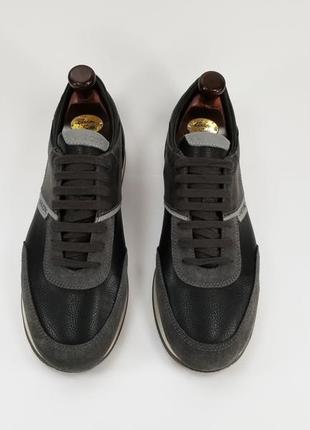 Geox оригинал мужские кожаные кроссовки кросівки