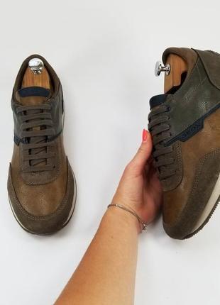Geox оригинал мужские кожаные кроссовки 42