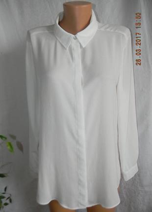 Белая блуза-рубашка
