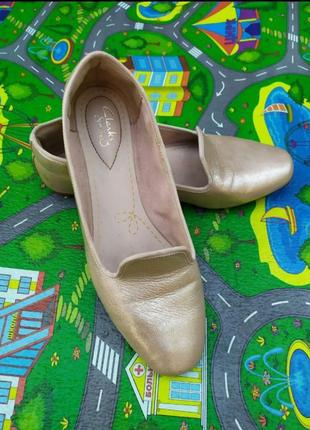 Кожаные бежевые нюдовые туфли балетки шкіряні балетки ❤️💃😍
