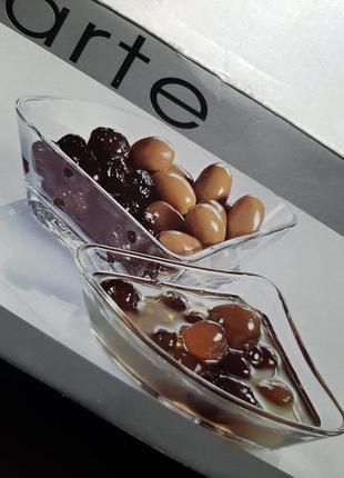 Стеклянные маленькие салатники 6штук