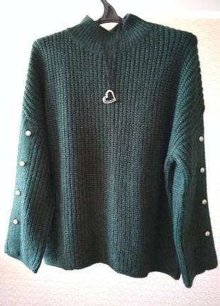 Супер теплий светр кофта пусер гольф