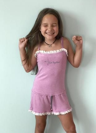 Пижамка летняя-на девочку, стильная и удобная!!
