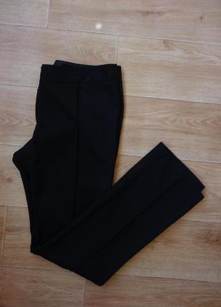 Снизила цену next черные брюки - классика , классические брюки 10 - размер