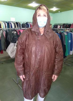 Роскошная куртка из нежной кожи лайка ultsch