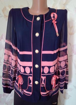 Блуза рукава шифон