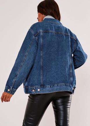 Трендова оверсайз джинсова куртка levis