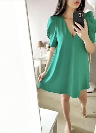 Летящее платье zara