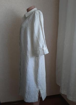 Легкое льняное платье, туника в идеальном состоянии2 фото