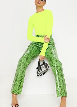 New look. товар из англии. неоновый реглан в кислотном цвете