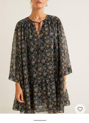 Летнее шифоновое платье ,туника,пляжное платье,на лето на подкладке4 фото