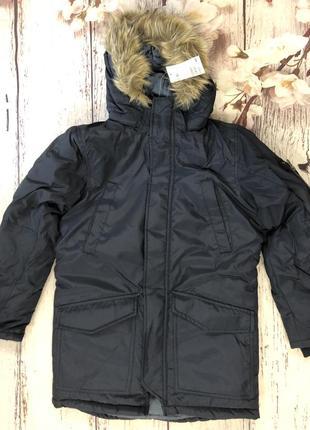 Зимняя куртка h&m 10-11 лет