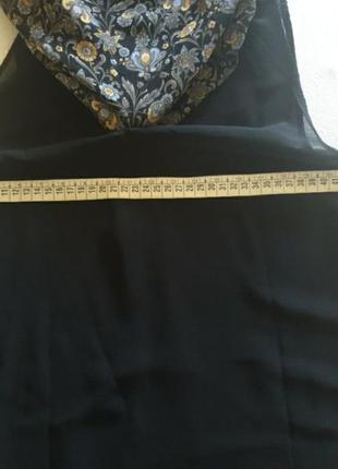 Летнее шифоновое платье ,туника,пляжное платье,на лето на подкладке6 фото