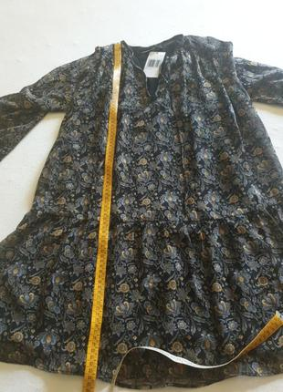 Летнее шифоновое платье ,туника,пляжное платье,на лето на подкладке7 фото