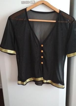 Стильная блузочка размер м-л