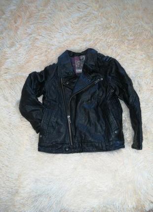 Кожаная куртка курточка шкіряна