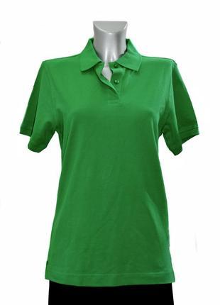 Женская трикотажная футболка –поло hakro. код 3215