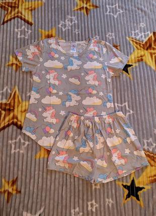 Пижамка пижама комплект для дома
