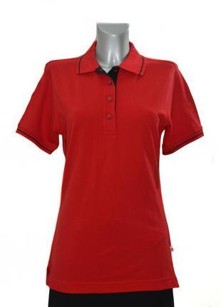 Женская трикотажная футболка –поло hakro. код 3215(1