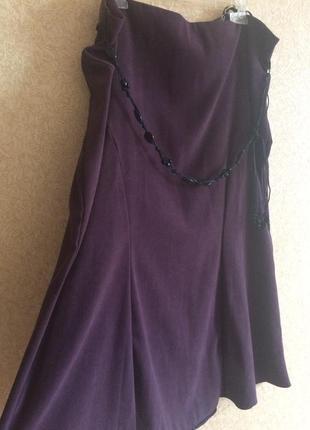 Новая юбка годе evans красивого кроя большого размера