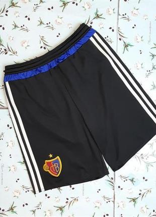 🌿1+1=3 фирменные черные мужские шорты adidas оригинал, размер 44 - 46