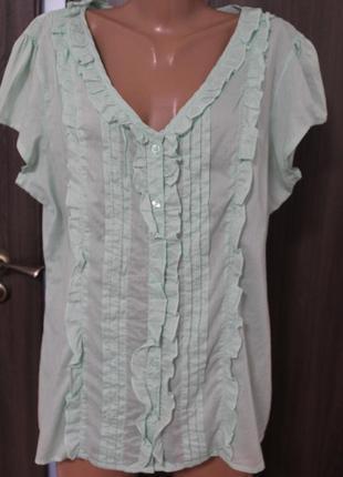 Легкая блузка tu в идеальном состоянии 5xl