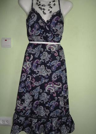 Красивое летнее платье 48-50р.