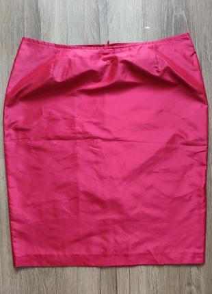 Шёлковая шелковая юбка карандаш 100% шёлк шелк шовк silk