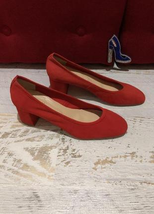Туфлі із натуральної замші,від minelli,розмір 38,устілка 24,5