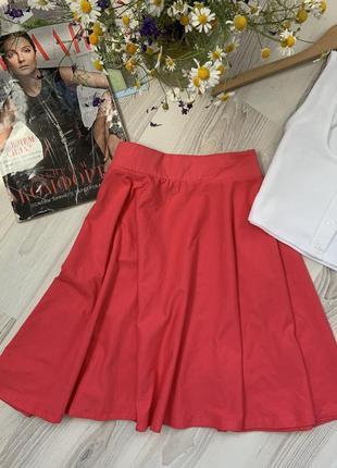 Яркая летняя юбка