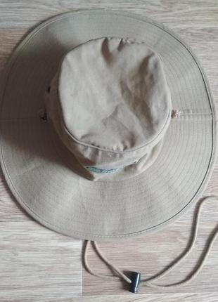Шляпа панама 56 см походная туристическая для охоты и рыбалки