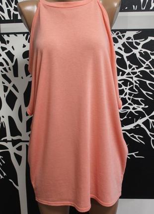 Трикотажная блузка с открытыми плечами river island в идеальном состоянии l