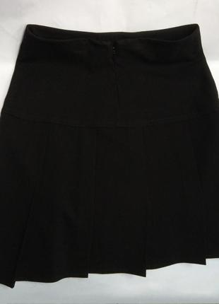 Юбка черная bhs в складку 10 лет/ 140 см