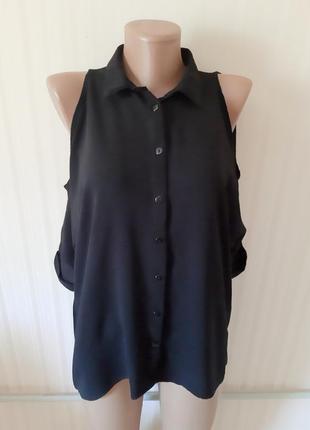 Красивая блуза с открытыми плечами от new look