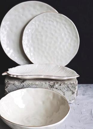 Набір посуду (тарілки, піалки, салатники)