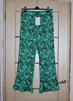 Кюлоты брюки devier штаны в пижамном стиле