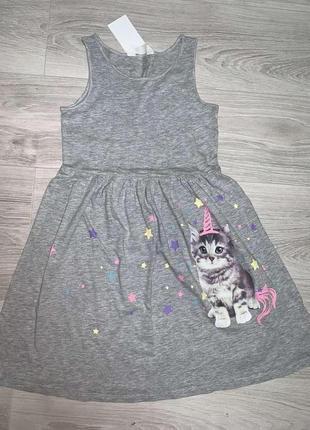 Платье сарафан h&m 110-116, 134-140 из сша