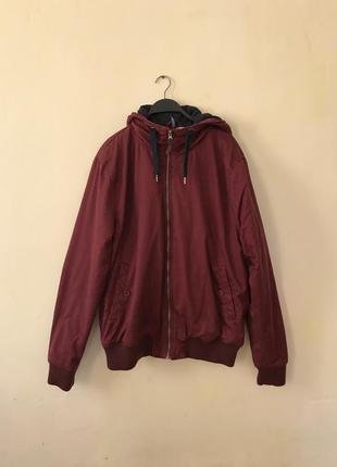 Куртка бомбер (бомпер) утеплённый h&m
