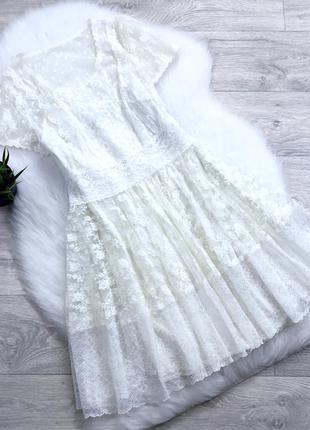 Платье сетка с подкладой