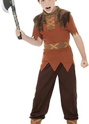 Викинг воин пират рыцарь 8-10 лет костюм