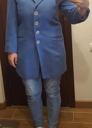 Легкий піджак-пальто 1=2