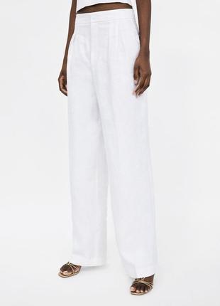Стильные актуальные брюки палаццо от zara