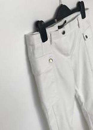 Актуальные зауженные брюки карго скинни сигаретки дудочки №61 zara