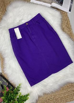 Джинсовая юбка с биркой