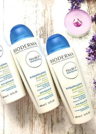 Шампунь проти лупи та для жирної шкіри голови bioderma node p shampooing