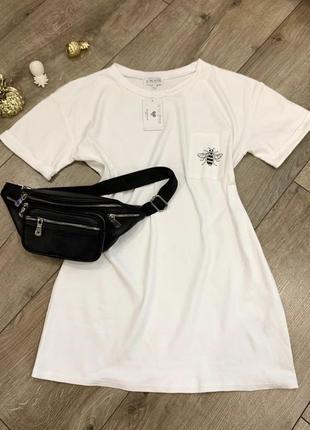 Шикарное платье-футболка