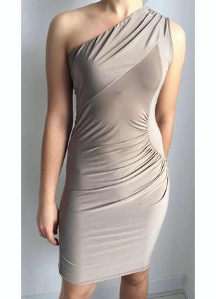 Платье, плаття, сукня бежева.