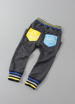 Стильные осенние штаны для мальчика